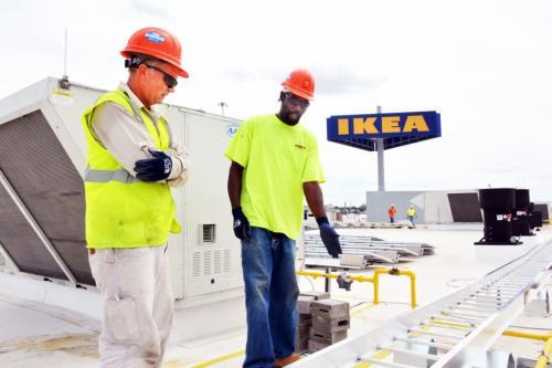 Ibew Neca Team To Deliver Ikea In St Louis Amp Missouri S